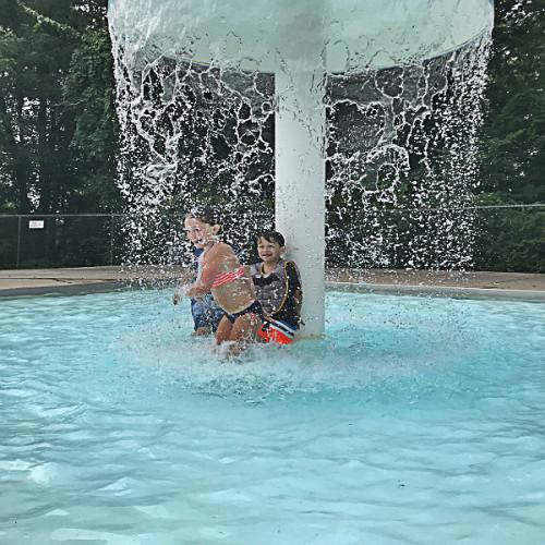 Fun in the sun at Cato's pool