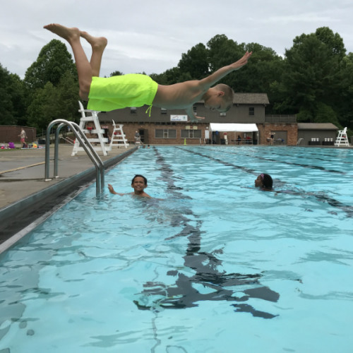 Campers were ready to dive into nature this year!
